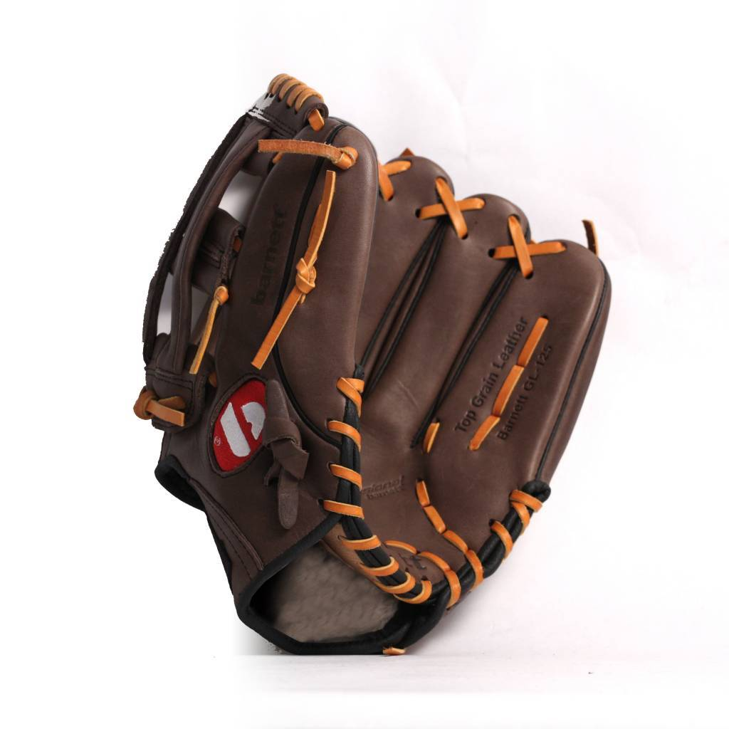 GL-125 Competition baseball glove, genuine leather, outfield 12.5, Brown