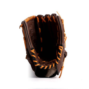 GL-120 Competition baseball glove, genuine leather, outfield 12 Brown