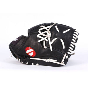 GL-125 Competition baseball glove, genuine leather, outfield 12.5, Black