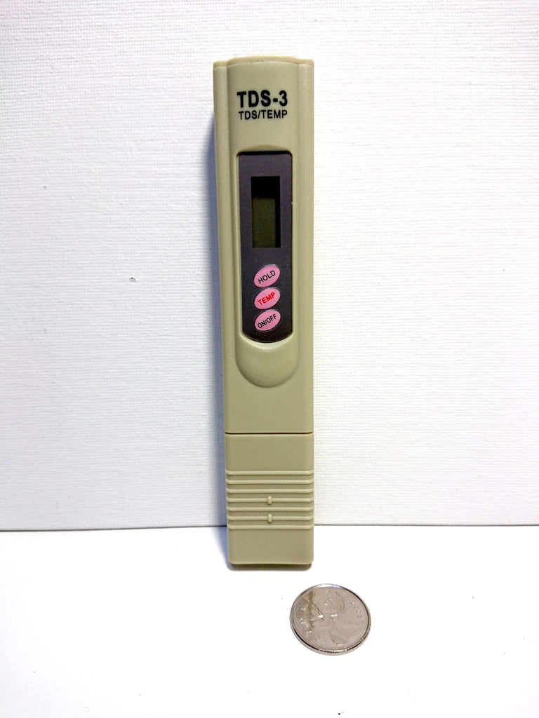 TDS and Temperature Meter