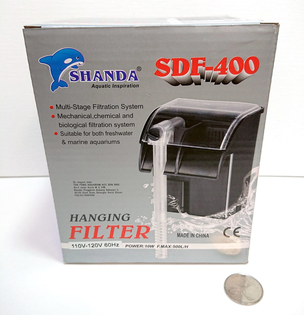 Shanda SDF-400 Hang on Back Filter