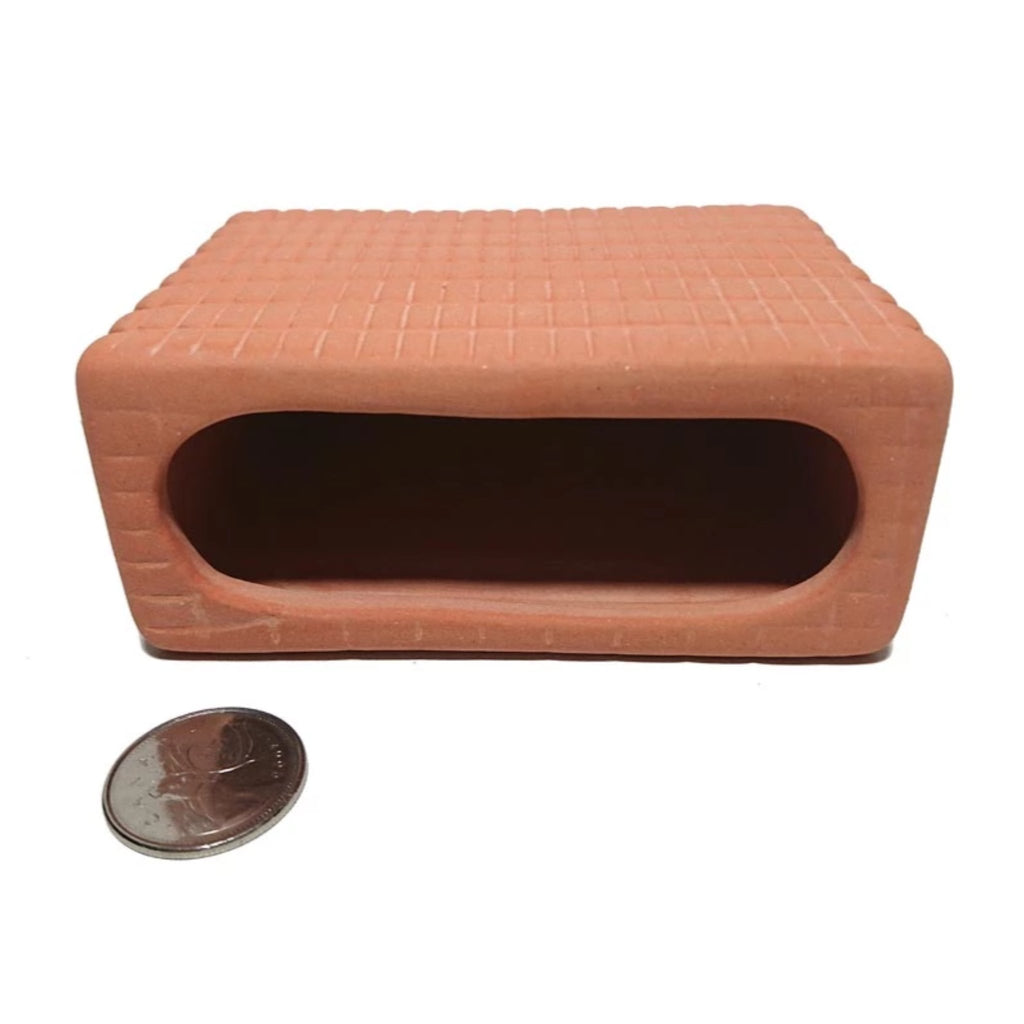 Rectangular Ceramic Fish Shelter (Single Entrance)