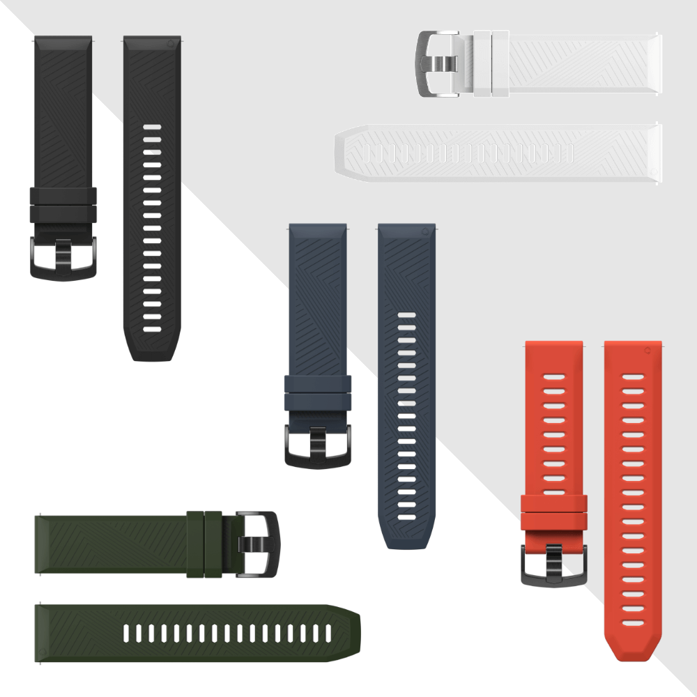 COROS silicone bands - personalise your watch.