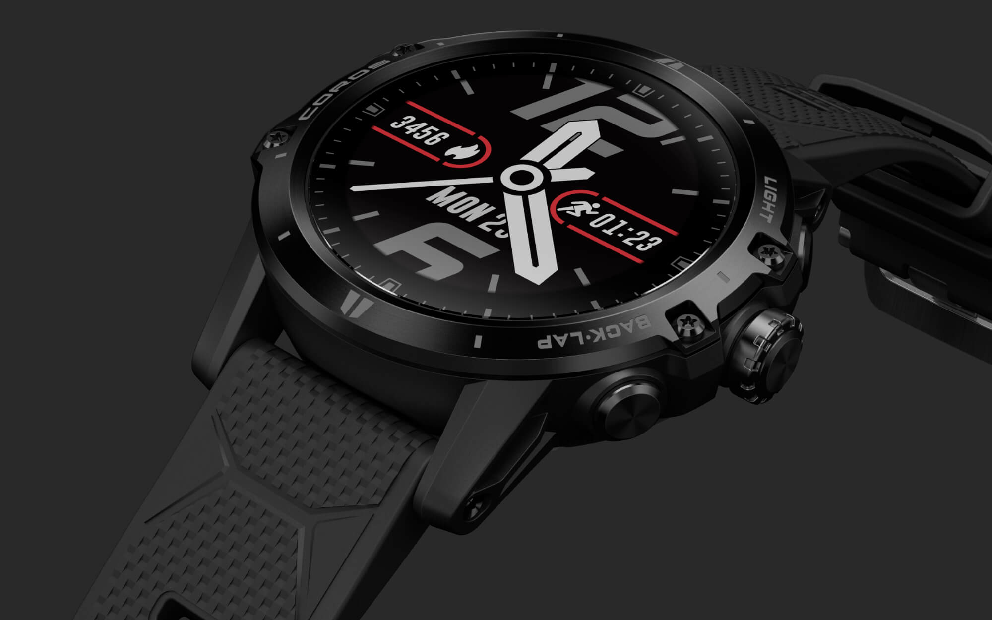 COROS Vertix - GPS adventure watch with unmatched 60 hours battery life