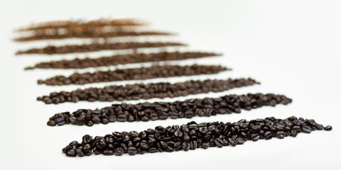 Different Roast for Coffee Beans