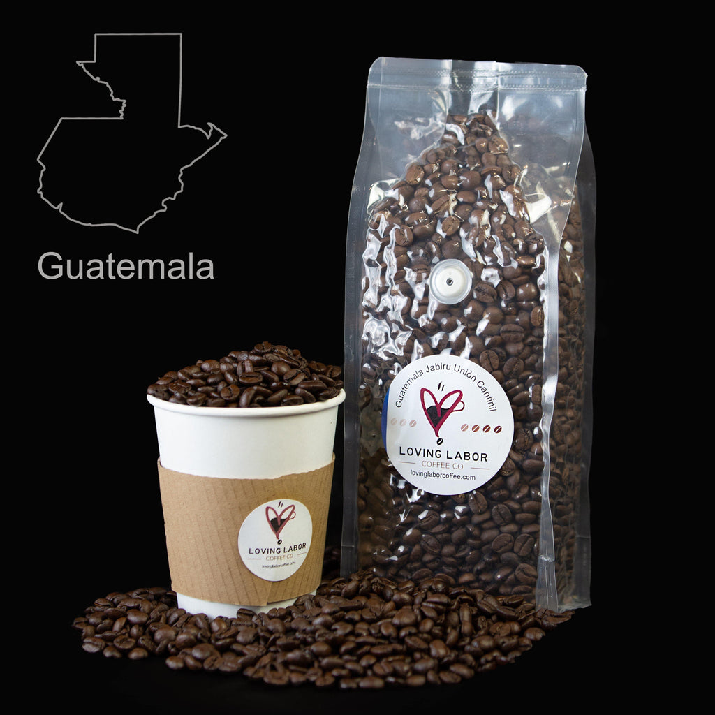 Guatemala Jabiru Unión Cantinil Loving Labor Coffee Co.