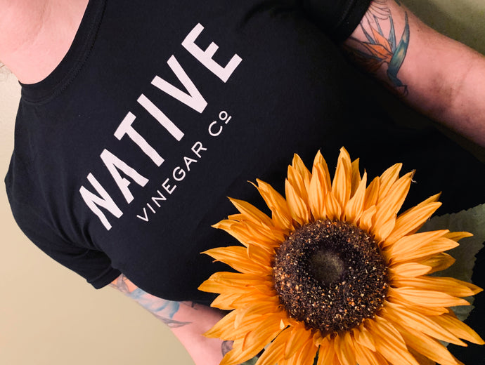 Native Vinegar Black T-shirt