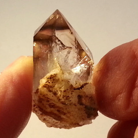 Classic Brandberg Quartz Crystal on Matrix BRC-339