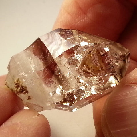 Windowed Brandberg Quartz crystal