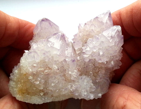Sparkling Spirit Quartz Crystal Cluster With Dozens Of Glistening Terminations IQ-102