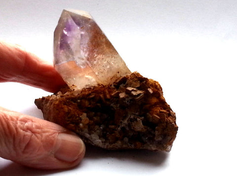 Brandberg Quartz Crystal in Matrix