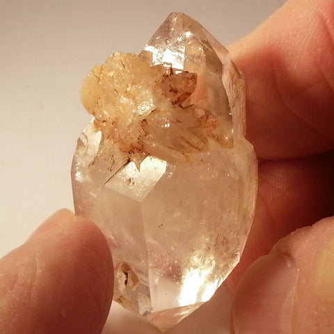 Large double-terminated Brandberg Quartz