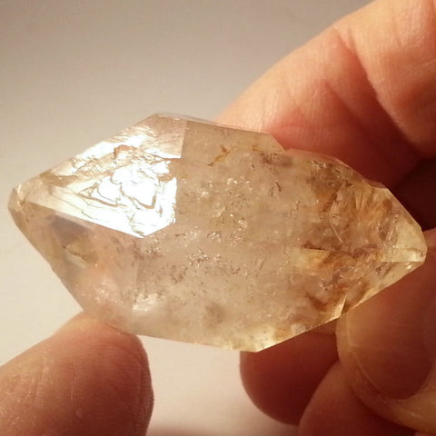 Stepped Large Brandberg Quartz crystal