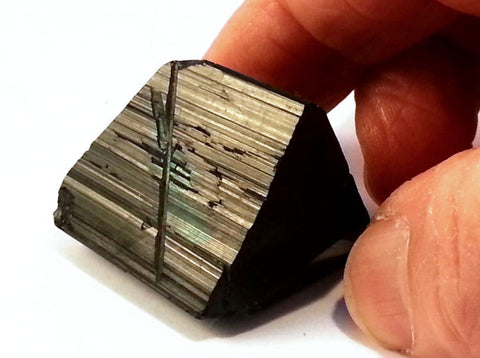 AAA Quality Black Tourmaline Crystal from Erongo With Classic Tri-Star Termination BLT-206