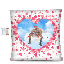 Load image into Gallery viewer, Cupid Barry Sequin Pillow