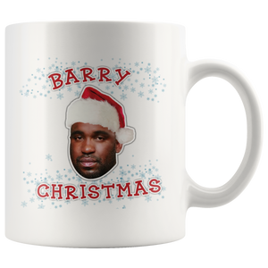 Barry Christmas Mug