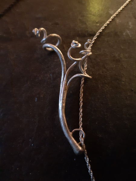 Tendril necklace pre order.-Beca Beeby