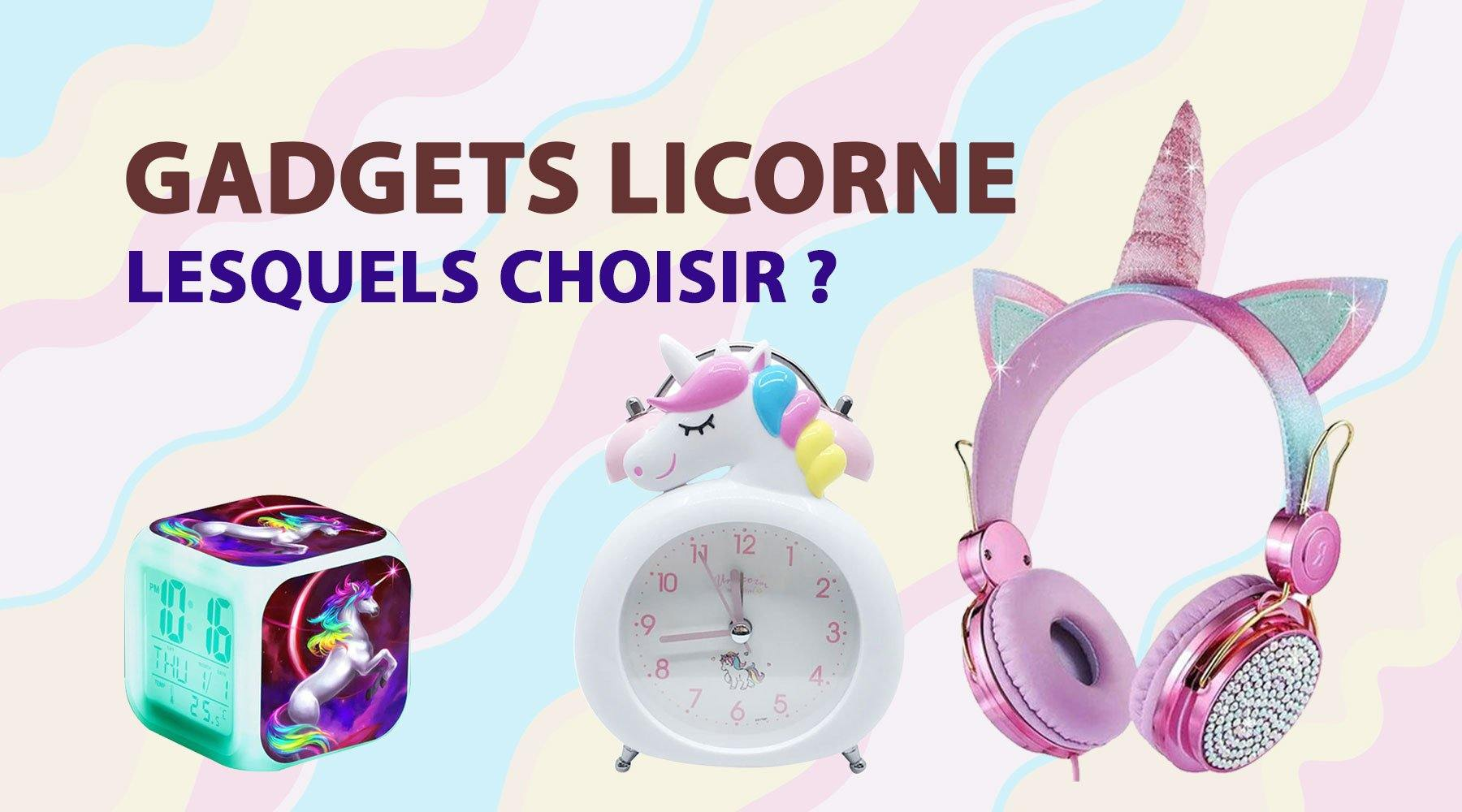 Quels gadgets Licorne choisir ? | LICORNE FASHION