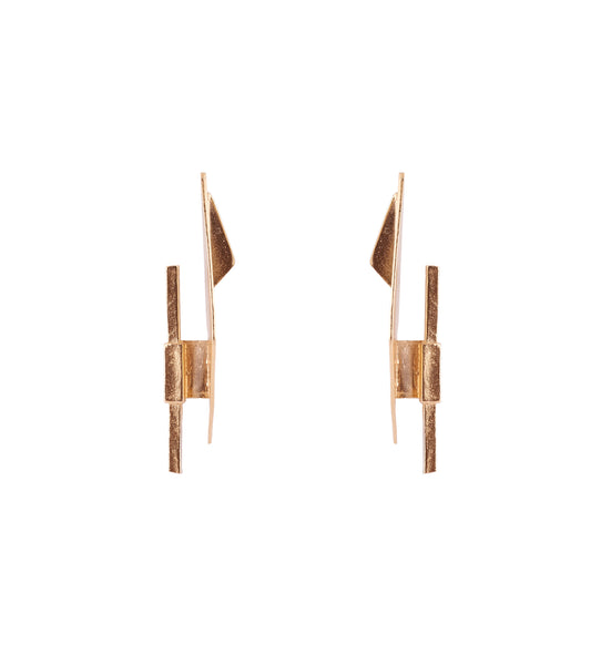 Tomer Earrings Gold
