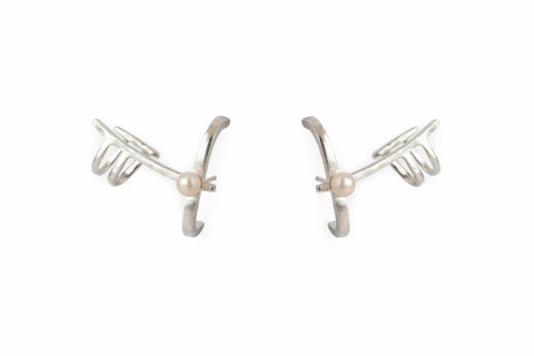 Perla Earrings Silver