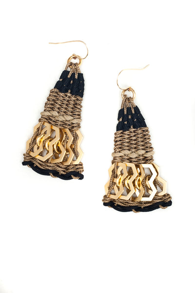 Anita Earrings Gold