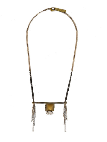 Yara Necklace Brass
