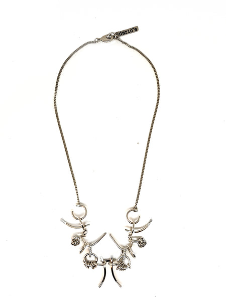 Ella Necklace Silver