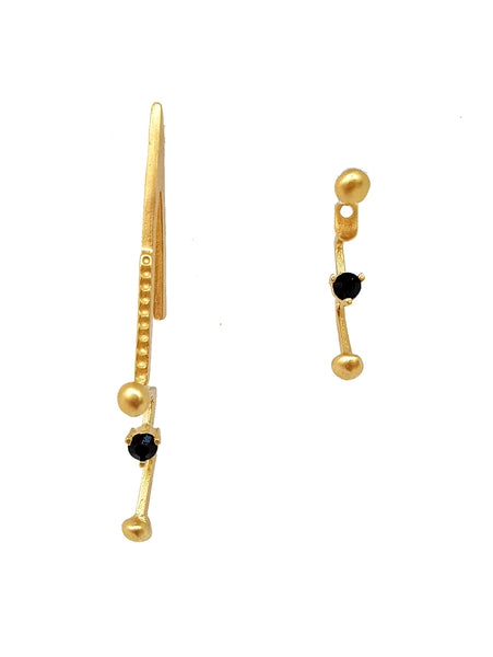 Tiran Earrings Gold