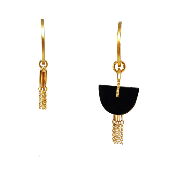 Janis Earrings Gold