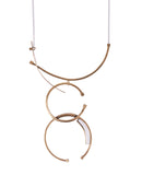 Newton Necklace Brass