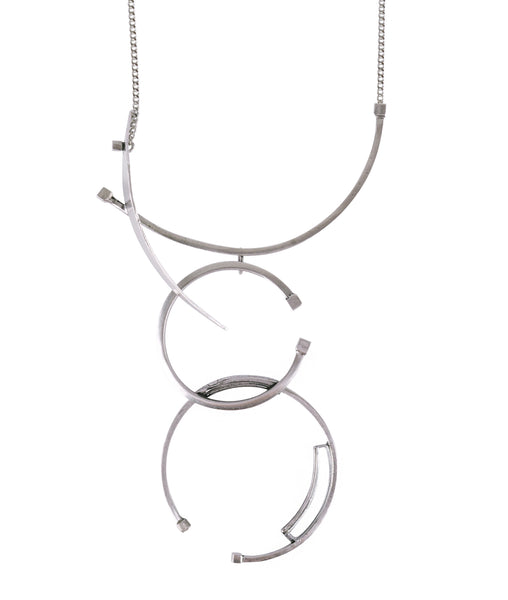 Newton Necklace Silver