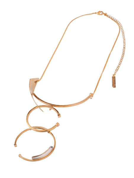 Newton Necklace Gold