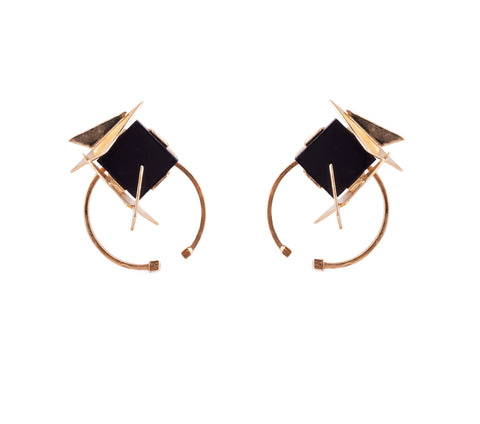 Dorin Earrings Gold