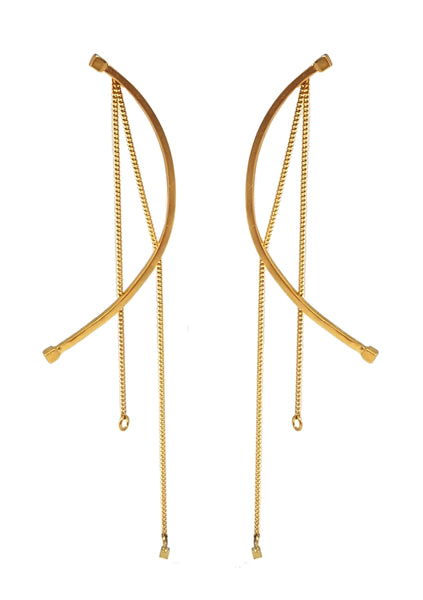 Gal Earrings Gold