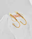 Nika Earrings Gold