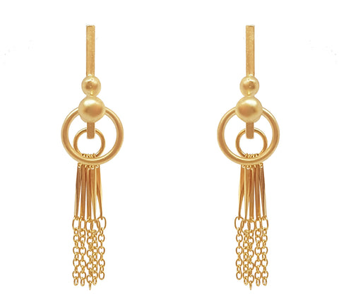 Anandi Earrings Gold