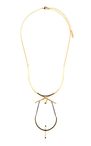 Basima Necklace Gold