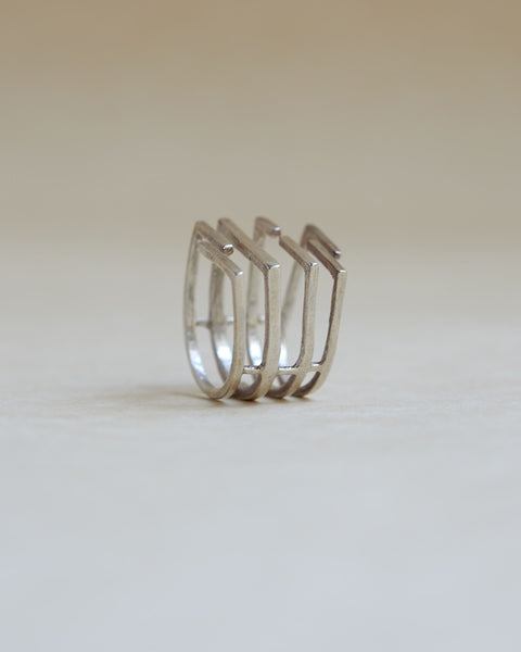 Melody Ring Silver