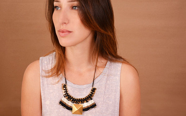 Maria Necklace Gold