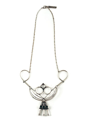 Natalia Necklace Silver