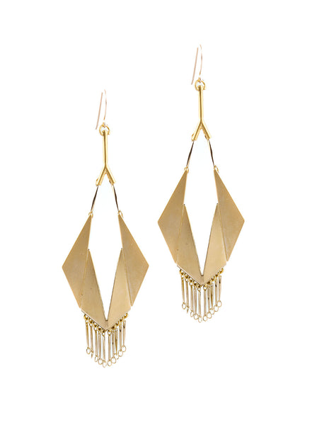 Sunny Hook Earring Gold