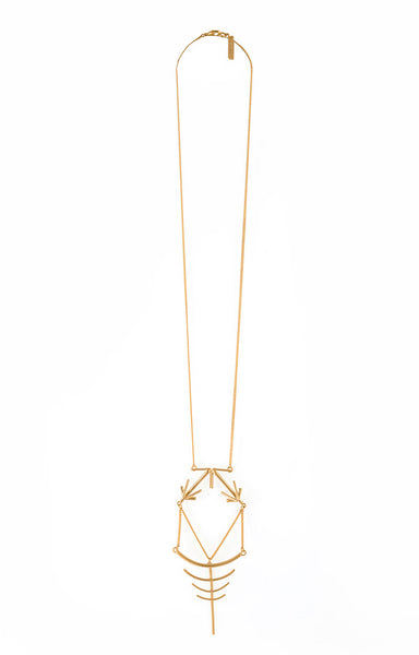 Vanessa Necklace Gold
