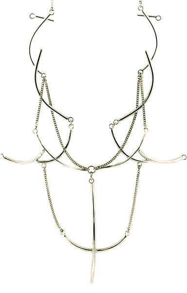 Jean Necklace Silver