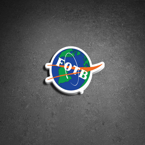 FOTB Space Sticker