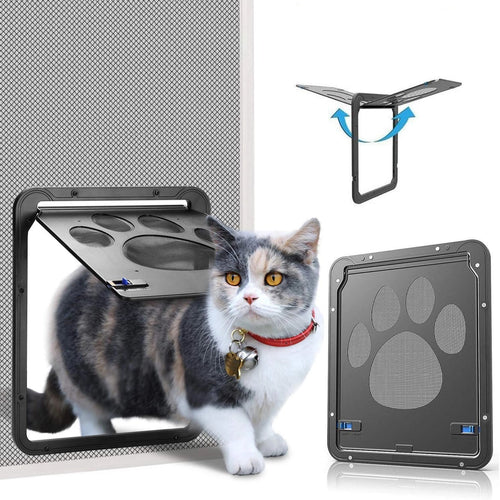 OWNPETS Lockable Pet Screen Door ( Small : 11.4