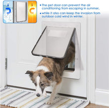 "Load image into Gallery viewer, OWNPETS Pet Wall Door (16.7"" X 14.6"" X 1.77"") with Plastic Flap Door - X-Large"