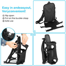 Load image into Gallery viewer, OWNPETS Legs Out Front Dog Carrier, Hands-Free Adjustable Backpack for Small Medium Cat Puppy Doggie