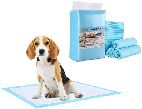 Ownpets Dog Training Pad, Leak-Proof 6-Layer Pet Potty Training Pads Pee Pads with Quick-Dry Surface for Pets, Puppies, Adult, Sick & Aging Dogs