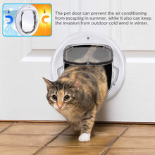 Load image into Gallery viewer, OWNPETS Cats Door, 11.8x13x1.6 inch Pets Door, Lightweight and Durable, Easy to Install Pet Doors for Cats, Fit All Cats and Small Dogs