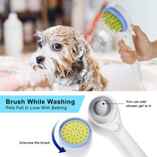 Load image into Gallery viewer, Ownpets Pet Combing Shower Sprayer,Water Sprinkler Brush for Dogs and Cats,Puppy Bath Scrubber,Handheld Grooming Shower Head with Soft Massage Needles